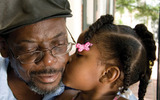 PHOTO: September is Grandparent Kinship Month. Most grandparents never imagine they�ll have to raise their grandchildren, but many step up when the mother and father are unable. Photo: grandparent and child. Courtesy PCSAO.
