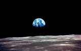 PHOTO: A new competition to come up with innovative solutions to the problems of climate change was announced this weekend by UW-Madison, which is encouraging widespread participation in the competition. (Photo: National Aeronautics and Space Administration (earthrise, Apollo 11)