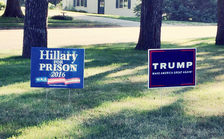 A new poll suggests that during the 2016 presidential election, many Ohioans were voted against the candidate they didn�t like, rather than voting for a candidate of choice. (David Mulder/Flickr)