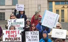 A climate march and rally in Iowa on Saturday will focus on issues including the Dakota Access Pipeline. (Bold Iowa)