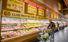 About 20 percent of beef is imported, but country-of-origin labeling isn't required. (Lance Cheung/USDA)