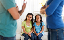A Child Trends report finds that problems at homes are among the most common adverse events experienced by children. (TetraImages/GettyImages)