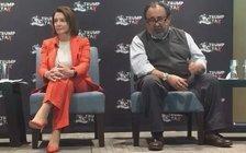U.S. Reps. Nancy Pelosi, D-Calif., and Raul Grijalva, D-Ariz. talked tax reform at an event in Phoenix on Tuesday. (Office of Rep. Pelosi)