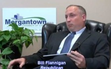 Bill Flanigan has given up running for office and has become a hemp farmer. (Bill Flanigan/Youtube/Morgantown Chamber of Commerce)
