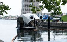 Baltimore Waterfront Partnership's Healthy Harbor Initiative has collected more than 1 million Styrofoam containers since its first