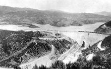 The St. Francis Dam collapse in 1928 is California's second-deadliest disaster, after the San Francisco earthquake of 1906. (H.T. Strearns/U.S. Geological Survey)
