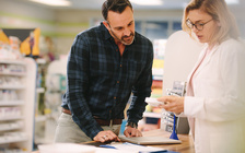 Folks can ask their local pharmacist to go through their medications with them. (Jacob Lund/Adobe Stock)