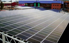 A West Virginia Senate bill aims to let power companies offer regulated solar energy to businesses and households, in a state that currently offers no solar power. (SolarWorld)