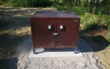 Twenty sturdy food-storage lockers to keep bears away from campsites will be installed in the Colville National Forest by fall 2021. (U.S. Forest Service/Flickr)