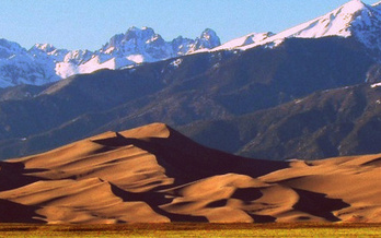 IMAGE: Great Sand Dunes National Park is one of the many Colorado recreation areas supported by the Land and Water Conservation Fund. CREDIT: National Park Service.