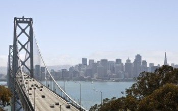 PHOTO: San Francisco Bay Bridge. A settlement reached over Plan Bay Area will ensure the public has a chance to chime in when it comes to future transportation and housing developments. Credit: Sutterstock