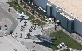 PHOTO: Lockheed Martin�s Advanced Development Programs building in Palmdale, Calif. The tax credits in AB 2389 may help this and other aerospace companies bidding for contracts for the Defense Department's Advanced Strategic Aircraft Program. Photo credit: Alan Radecki