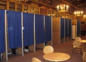 PHOTO: A new study by the League of Women Voters of Connecticut finds the type of primary does not seem to matter, but more education is needed to boost voter turn out. Credit: Wikimedia Commons.