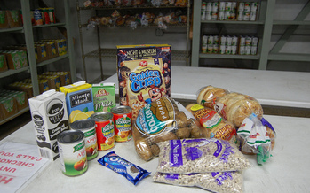 PHOTO: Minnesotans can make their donations go even further in July, as about 150 food shelves across the state participate in the annual Open Your Heart Challenge. Photo credit: Billy Brown/Flickr.