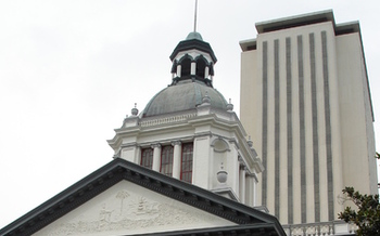 PHOTO: The Florida Legislature said on Tuesday it will not appeal the Leon County Circuit Court ruling overturning district lines drawn in 2012. Photo credit: Jenn Greiving.