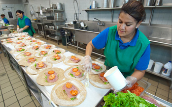PHOTO: The USDA's Community Eligibility Provision allows all students to receive free meals at those schools with a high percentage of children from low-income families. Photo credit: U.S. Dept. of Agriculture