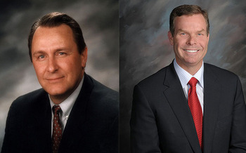 PHOTO: The Alliance for a Better Utah says the arrests of two former Utah attorneys general, John Swallow (right) and his predecessor Mark Shurtleff (left), shows the need for state lawmakers to pass tougher ethics laws and tackle other reforms. Photo courtesy State of Utah.