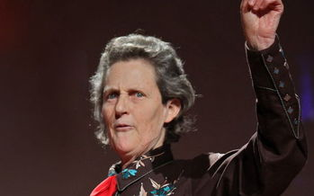 PHOTO: The keynote speaker today at Edufest in Boise is Temple Grandin, Ph.D. She is considered the most well-known person in America with autism, and she'll focus on connecting with kids who are considered gifted, as well as having a disability. Photo credit: TED 2010.