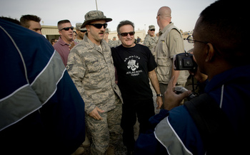 PHOTO: Robin Williams was known during his life as a brilliant comedian and actor. Advocates for mental health say his tragic death could serve to bring greater understanding to the issues of mental illness. Photo credit: U-S Department of Defense.