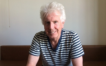 PHOTO: Graham Nash, of Crosby Stills and Nash, fears America has been divided into a nation of