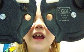 PHOTO: As Minnesota children head back to school, eye doctors are reminding parents to get their kids in for an eye exam to head off vision problems at the beginning of the school year. Photo credit: D.C.Atty/Flickr.
