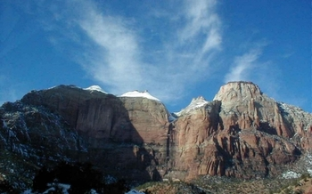 PHOTO: Skies over Zion National Park and other National Parks around the nation should remain clear of aerial drones, now that the National Park Service has banned their use. Photo credit: Robert Nieter.