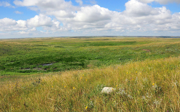 PHOTO: This week marks the 50th anniversary of the Land and Water Conservation Fund. It was created to help safeguard the nation's natural areas, water resources and outdoor recreation opportunities - such as the region where this prairie pothole is located. Photo Credit: U.S. Fish and Wildlife Service/Tom Koerner/Flickr.