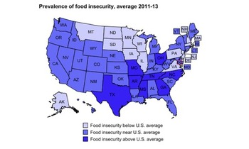 GRAPHIC: While food insecurity in Massachusetts is below the levels in many other states, nearly eleven percent of all Commonwealth households are struggling to put food on the table. Source: U.S. Department of Agriculture.