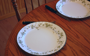 PHOTO: More empty plates? The number of Missouri households struggling to put adequate food on the table continues to rise at one of the fastest rates in the nation, according to the USDA's annual food=insecurity survey. Photo credit: ladyheart/morguefile.com.