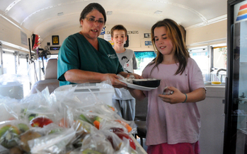 PHOTO: Feeding children who might otherwise not receive regular healthy meals has been a summer priority in Colorado as well as a school-year priority. Monday's Hunger Free Colorado Summit will cover multiple facets of the state's food insecurity problems. Photo courtesy Hunger Free Colorado.