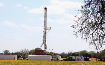 PHOTO: There is contamination of drinking water associated with hydraulic fracturing, but a new study also finds the primary cause is from faulty shale gas wells, not migrating methane from the process itself. Photo credit: Roy Luck/Flickr.