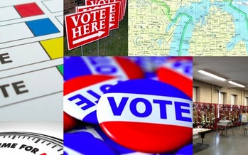 PHOTO: From figuring out how to register to vote, to knowing where to go vote on Election Day, a new website keeps both first-time and seasoned Michigan voters up to date on critical election information. Image courtesy of Michigan Election Coalition.