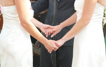 PHOTO: Marriage is now a reality for same-sex couples in Indiana after the U.S. Supreme Court refused to take up cases seeking to defend the ban on same-sex marriage in the state. Photo credit: Emily Roesly/Morguefile.