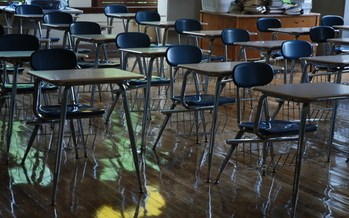 PHOTO: Overcrowded classrooms, fewer activities, and fewer staff members are some of the short-term consequences of cuts to K-12 education, but a new report suggests not restoring funding to pre-recession levels puts the future of Michigan students in jeopardy. Photo credit: Kevin Connors M.Ed./Morguefile.