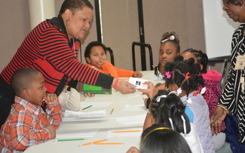 PHOTO: The One Church One School program pairs faith communities and schools to help students succeed in their educational and personal life. Photo courtesy of Rev. Leon Parker, III.