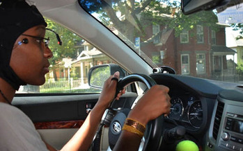 PHOTO: A recently released  study from AAA indicates that many of the new hands-free technology systems may be much more distracting than most drivers think they are. (Photo courtesy of AAA)