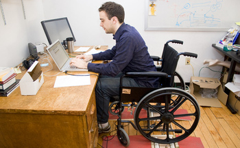 PHOTO: October is Disability Employment Awareness Month, and efforts are under way in Indiana to educate employers about the various capabilities and contributions of workers with disabilities. Photo credit: Erin Sparling/Flickr.