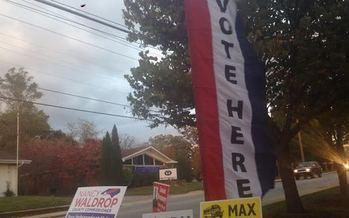 Photo: Early voting starts today across North Carolina. Photo courtesy: S. Carson