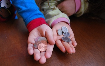 PHOTO: A report from Voices for Illinois Children finds one-in-five children would benefit from a higher minimum wage. Photo credit: Kristine Kiskey/morguefile.