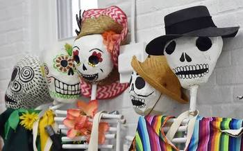 Day of the Dead celebrations include puppets and remembrance.  Courtesy: Unidad Latinos en Accion