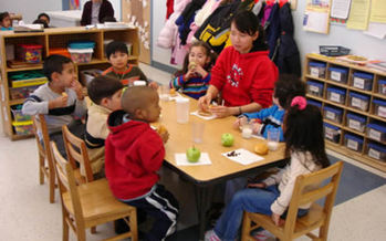 PHOTO: High-quality, affordable preschool for low-income working families while also providing access to job training is among the recommendations in a new report on reducing child poverty. Photo courtesy of EPA.