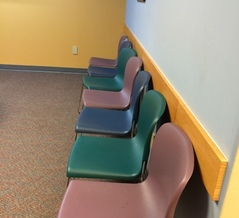 PHOTO: No waiting in the waiting room? Fewer Illinois children may be able to get to the doctor's office, as a new report finds the state has slipped in its efforts to get them covered by health insurance. Photo credit: M. Kuhlman.