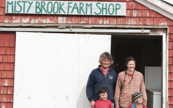 PHOTO: The Holmes Family of Misty Brook Farm, a Buy/Protect/Sell Project in Albion, was helped by Maine Community Foundation's $1 million loan to Maine Farmland Trust. Photo credit: Greta Rybus/Maine Farmland Trust.