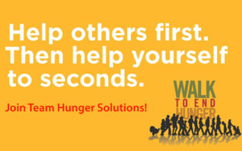 PHOTO: The seventh annual Walk to End Hunger is set for Thanksgiving morning at the Mall of America. Photo credit: Hunger Solutions Minnesota
