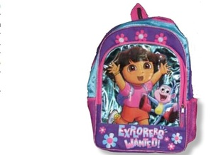 PHOTO: A Dora backpack is among two dozen toys named as potential hazards for children in the latest edition of the annual