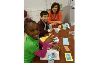 PHOTO: Outreach and efforts to increase access already are meaning more Virginia kids getting enough to eat, in school and out, according to First Lady Dorothy McAuliffe and the No Kid Hungry campaign. Photo courtesy of Drew Central Schools.