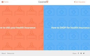 GRAPHIC: CoveredU.org offers Coloradans the chance to better understand their current health coverage, or how to shop for new health insurance under the Affordable Care Act. Graphic courtesy of the Colorado Consumer Health Initiative.