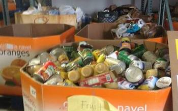 PHOTO: The increase in charitable giving during the holiday season helps to meet the growing demand for donations in Indiana, but the need continues after the New Year. Photo courtesy of Hoosier Hills Food bank.