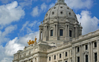 PHOTO: Minnesota lawmakers return to St. Paul on Tuesday for the opening of the 2015 legislative session, and while there is support from both parties to improve transportation, differing views on how to fund the work may present a roadblock. Photo credit: Teresa Boardman/Flickr.