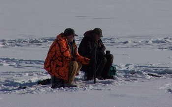 PHOTO: Ice fishing is a popular Michigan winter pastime, but a little planning and a lot of caution is necessary so a fun day on the ice doesn't turn tragic. Photo credit: TRooney/Morguefile.